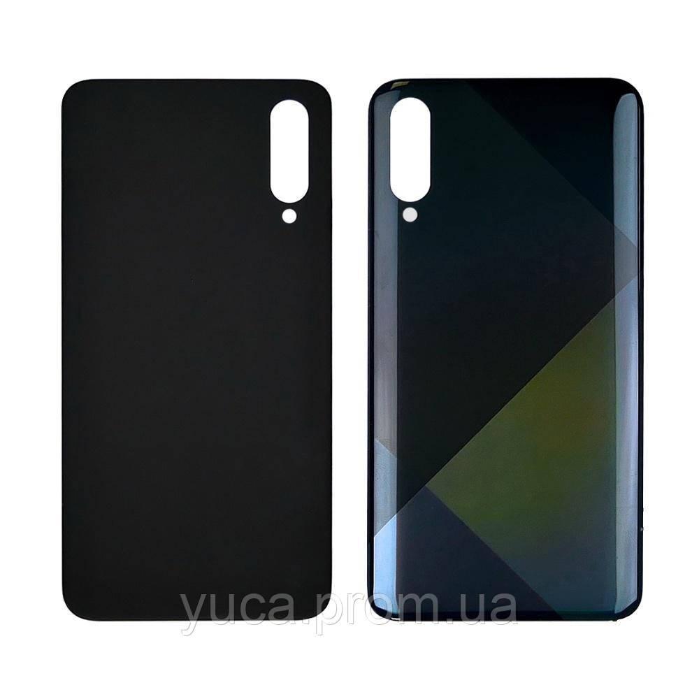Задняя крышка для Samsung A507 Galaxy A50S (2019) чёрная