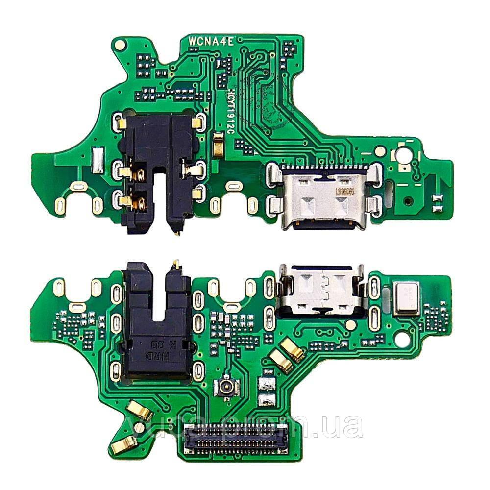 Роз'єм зарядки для HUAWEI P30 Lite на платі з мікрофоном і компонентами