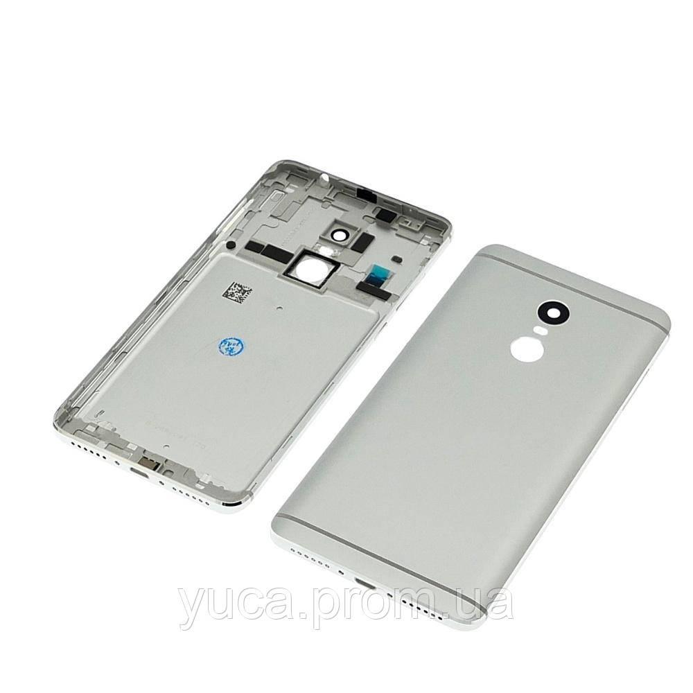 Корпус для XIAOMI Redmi Note 4 сріблястий (Mediatek)