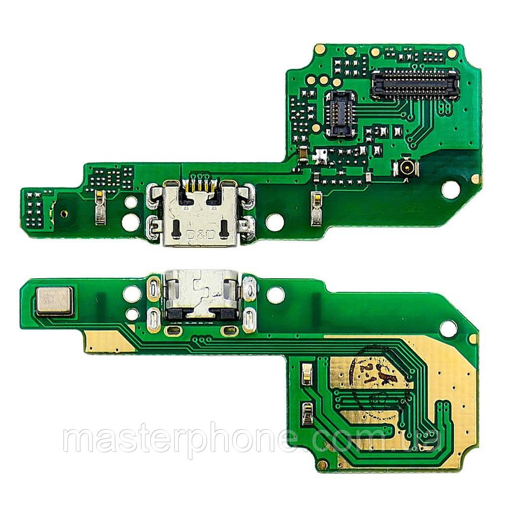 Роз'єм зарядки для XIAOMI Redmi 6/6A на платі з мікрофоном і компонентами
