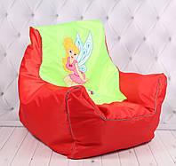 Мягкое детское кресло с девочкой, 44 см.