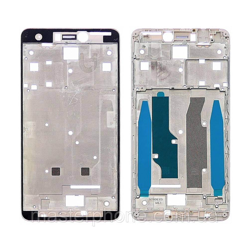 Дисплейне рамка для Xiaomi Redmi Note 4X (Snapdragon) біла