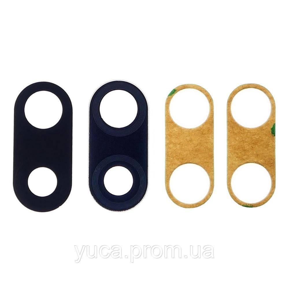 Скло камери для Xiaomi Redmi 7 чорне