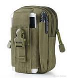 Органайзер edc сумка - цвет олива, фото 2