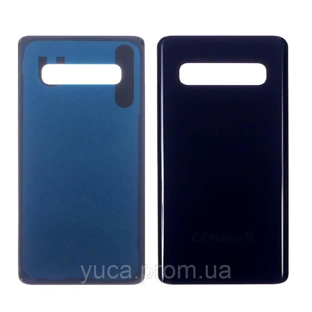 Заднє скло корпусу для Samsung G975 Galaxy S10 Plus чорне