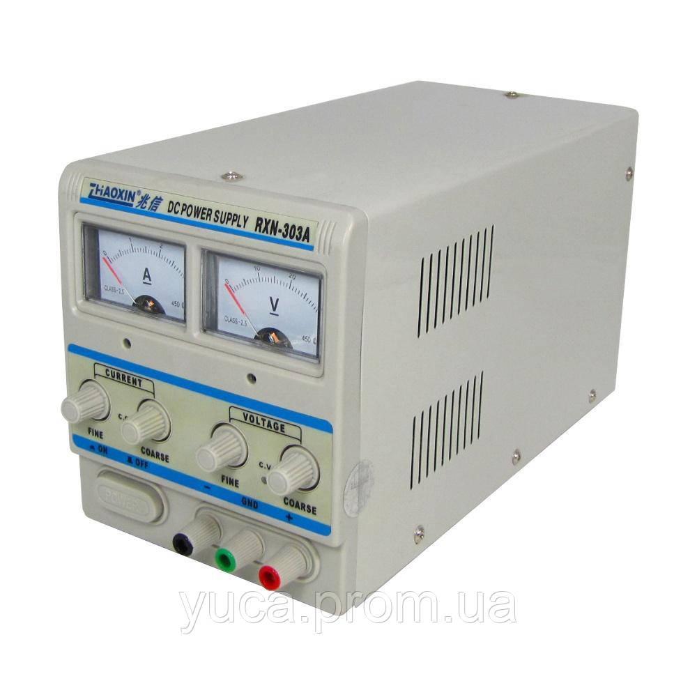 Блок питания ZHAOXIN RXN-303A 30V 3A, аналоговая индикация