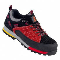 Кросівки 233 S1 защитые з металевим носком, чорно-синього кольору. URGENT (POLAND)