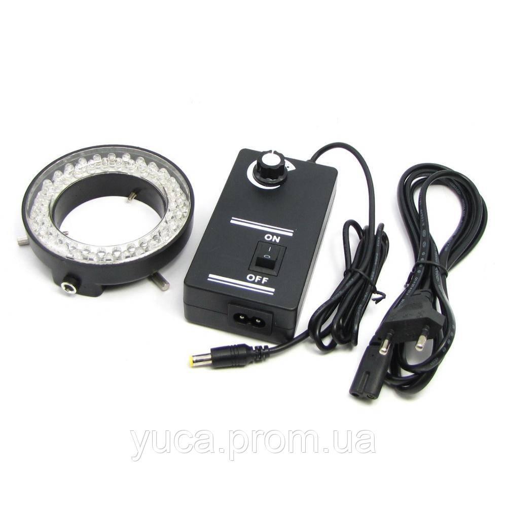 Кільцева підсвічування LED, з регулюванням яскравості, для мікроскопів серії XTX, AC 220V