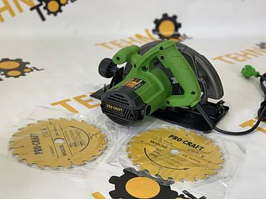 Цыркулярная дисковая пила - Procraft-KR2300 , циркулярка паркетка., фото 3