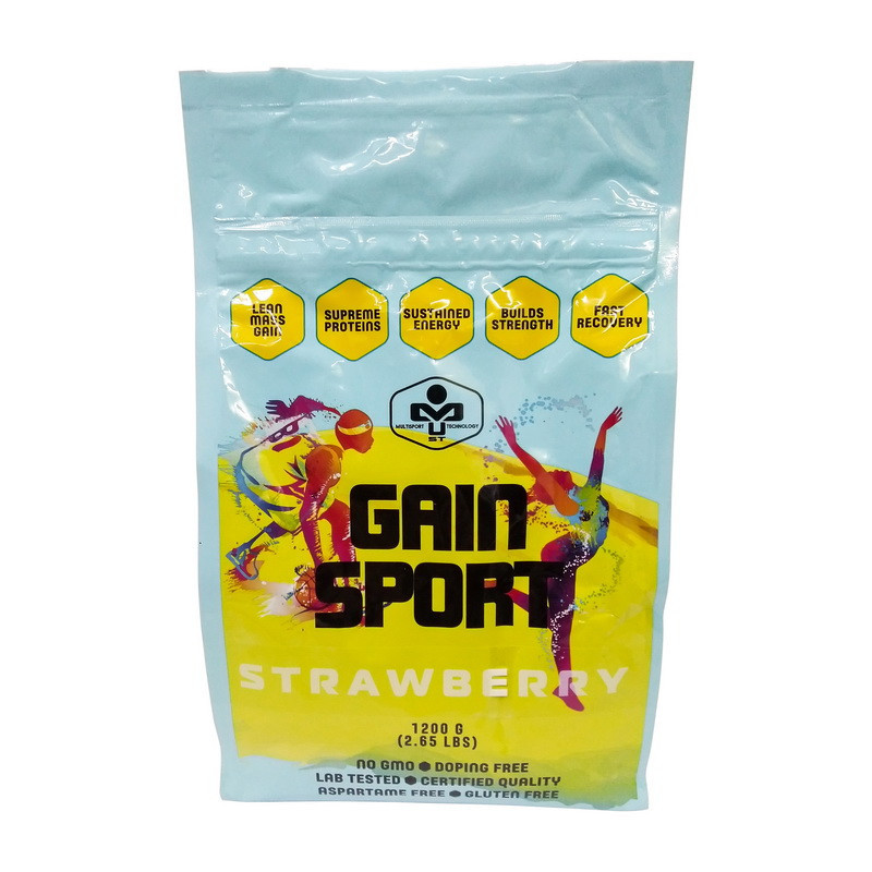 Гейнер для набору маси MUST Gain Sport (7 кг) маст гейн спорт vanilla