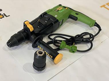 Прямий перфоратор Procraft DH1400DFR знімний патрон, фото 2
