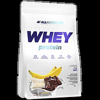 Сывороточный протеин концентрат AllNutrition Whey Protein (900 г) алл нутришн Chocolate Banana