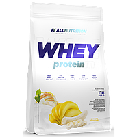 Сывороточный протеин концентрат AllNutrition Whey Protein (900 г) алл нутришн Banana