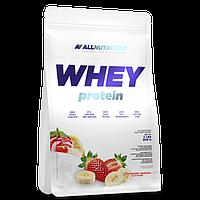 Сывороточный протеин концентрат AllNutrition Whey Protein (900 г) алл нутришн Strawberry-Banana
