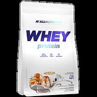 Сывороточный протеин концентрат AllNutrition Whey Protein (900 г) алл нутришн Toffe Coffe