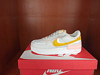 Яркие светло-серые кроссовки девушке Найк АИР Форс. Кроссовки серые женские Nike Air Force 1 Shadow Grey.