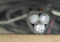 Кабель силовий алюмінієвий монолітний АВВГ 3х16 ГОСТ