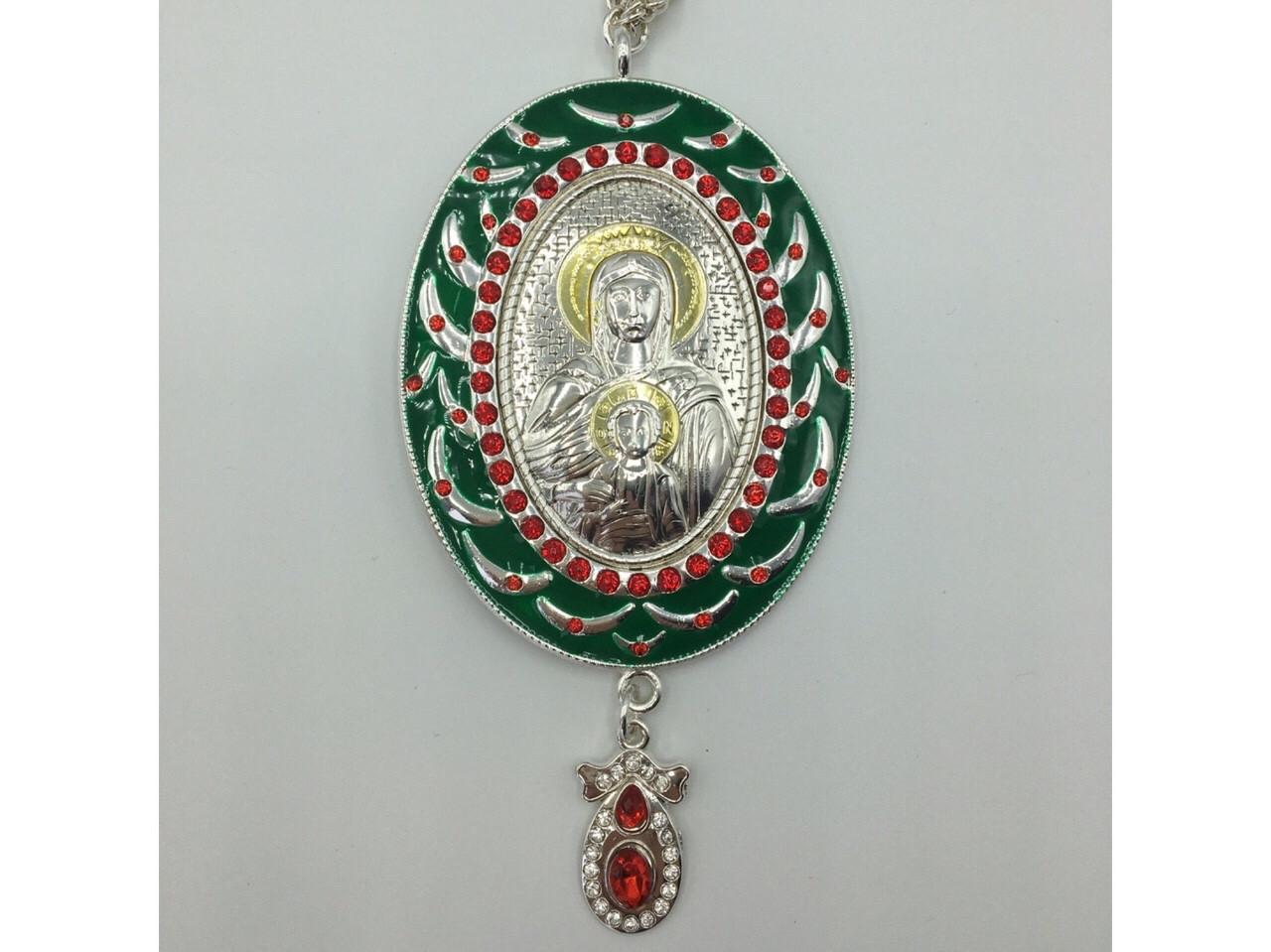 Панагия Божья Матерь П0010