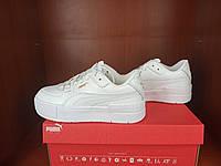 Пума Кали женские кроссы. Женские кроссовки Puma Cali Sport Mix White белые.