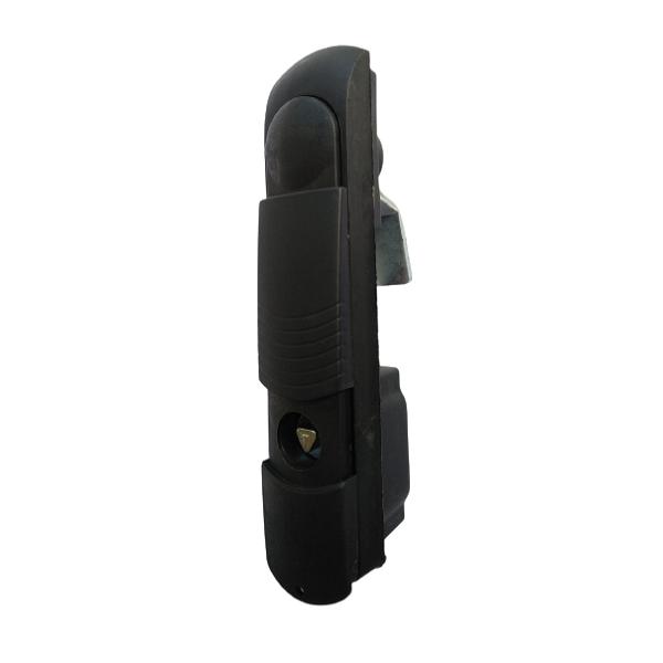 Ручка-замок для сетевых шкафов RZ 007-2-2, язык 12 мм, 1 точка, треугольник