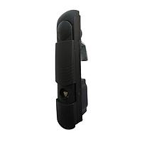 Ручка-замок для сетевых шкафов RZ 007-2-2, язык 12 мм, 1 точка, треугольник, фото 1