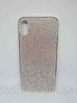 Силиконовый чехол накладка Камни Стразы для Iphone XR