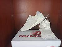 Женские кроссовки светло бежевые Нью Беленс 574. Стильные кроссы для девушки New Balance 574 Light Beige.