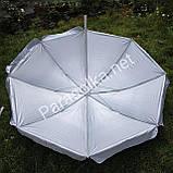 Пляжний зонт зелений з краплями 2,2 метра, фото 2