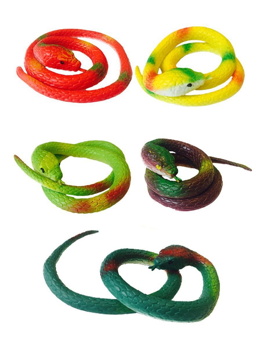 Детская игрушка Змея силиконовая 65 см