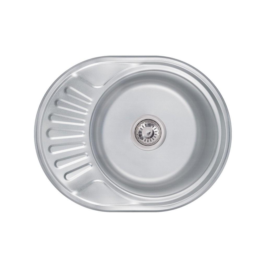 Кухонна мийка Lidz 6044 0,6 мм Decor (LIDZ604406DEC160)