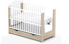 Детская кроватка Franek с ящиком