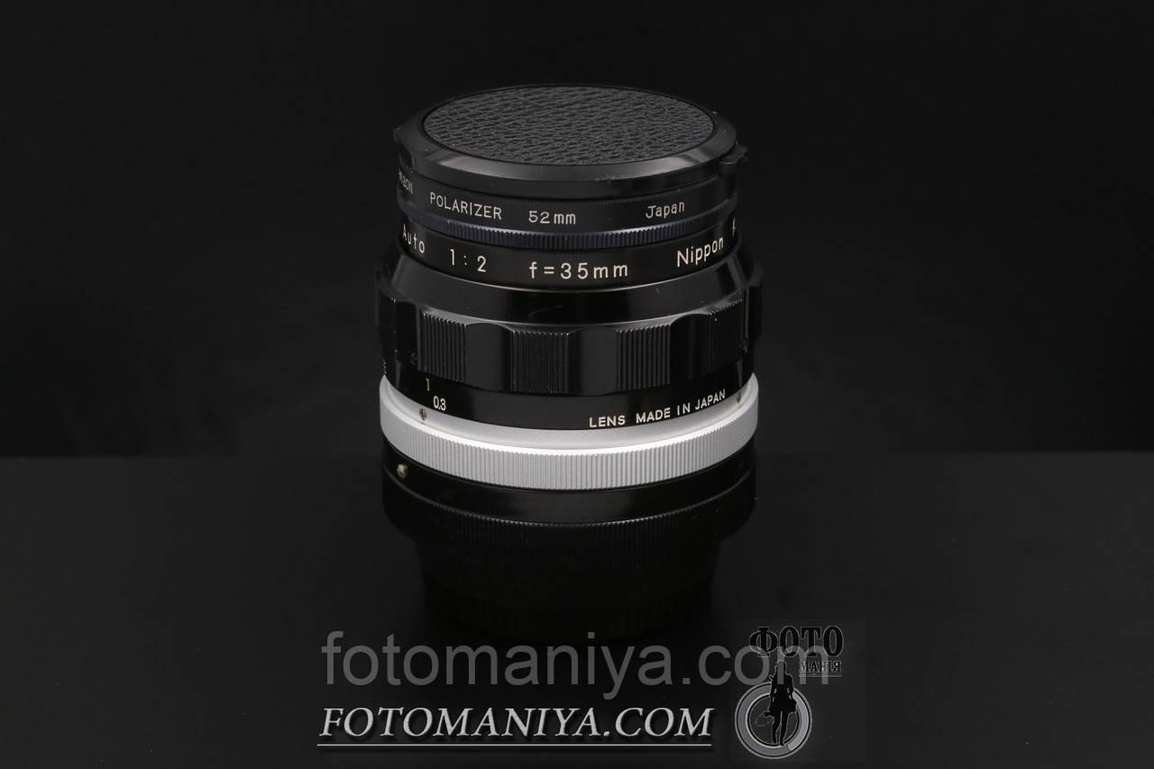 Nikkor-O 35mm f2.0  Nippon Kogaku Non-Ai