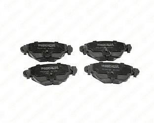 Дискові гальмівні колодки (задні) на Renault Kangoo (4х4) 2001->2008 - AutoTechteile - 5040181