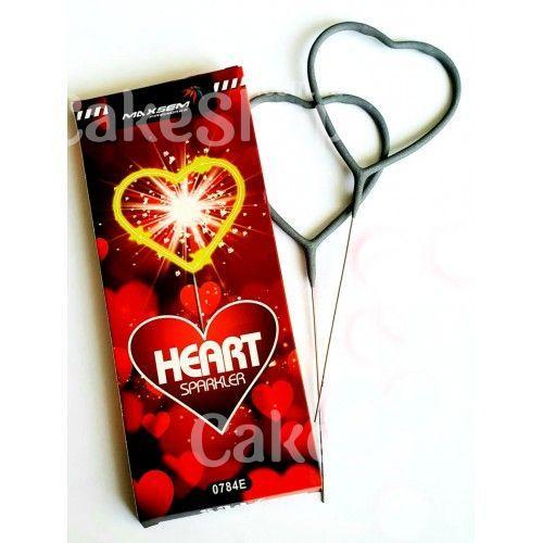 Бенгальские огни 0784Е Сердца