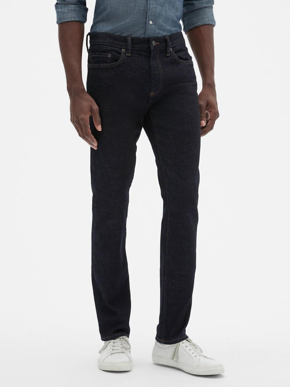 Темно-сині чоловічі джинси GAP