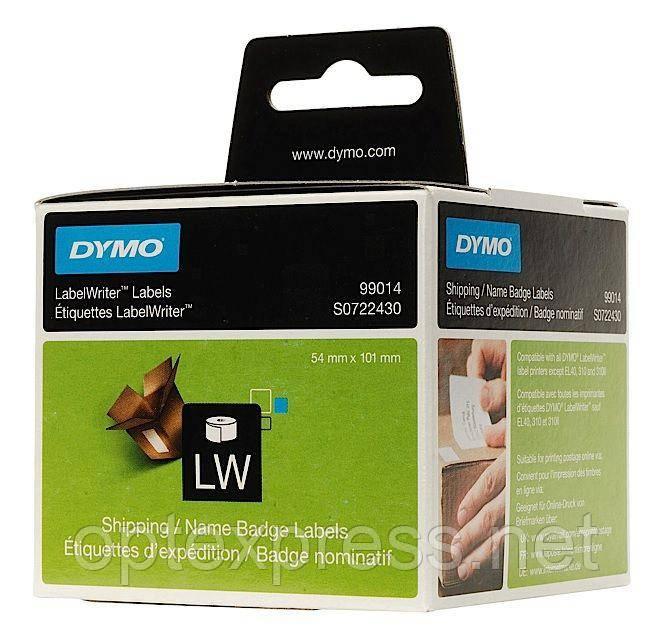 Этикетки белые DYMO  S0722430 для принтера  DYMO LabelWriter 450