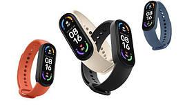 Фитнес-браслет спортивный трекер М6 Black с пульсоксиметром, Спортивные умные смарт-часы браслет
