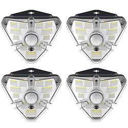 Лампа зовнішня індукційна BASEUS Solar Energy Collection Human Body Induction Wall Lamp (Triangle Shape) 4
