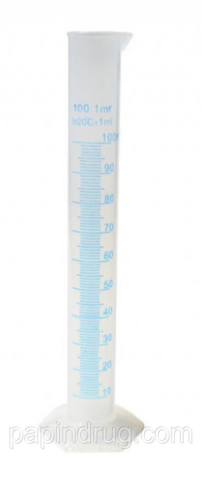 Циліндр мірний 250мл, пластиковий