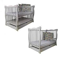 Детская кроватка - диван  Bobas c ящиком