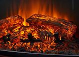 Электрокамин с порталом BOSTON AF-28S белый бьянко, каминокомплект (С ИМИТАЦИЕЙ ТРЕСКА ДРОВ), фото 3