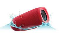 Беспроводная водонепроницаемая блютуз колонка JBL Charge 3 Bluetooth портативная музыкальная акустика красная, фото 7