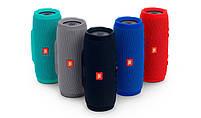 Беспроводная водонепроницаемая блютуз колонка JBL Charge 3 Bluetooth портативная музыкальная акустика красная, фото 4