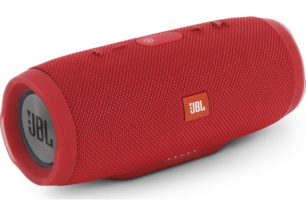 Беспроводная водонепроницаемая блютуз колонка JBL Charge 3 Bluetooth портативная музыкальная акустика красная