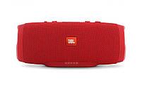Беспроводная водонепроницаемая блютуз колонка JBL Charge 3 Bluetooth портативная музыкальная акустика красная, фото 8