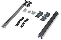 Розсувна система для дверей з доводчиком Новатор 95D 2м до 105 кг.