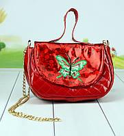 Дитяча сумка Мупси червоного кольору 21 див., фото 1