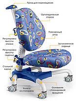 Mealux Champion   Детское кресло стул трансформер для школьника   Для регулируемой парты стола, фото 3