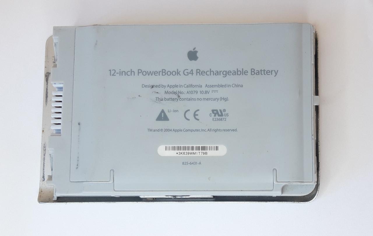 Акумулятор (умовно робочий) Apple PowerBook G4 IMAC A1079 оригінал б.у