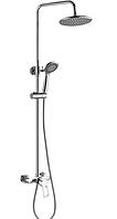 Душевой гарнитур с тропическим душем CRON HANSBERG 003-J душевая колонна со смесителем из силуминового сплава